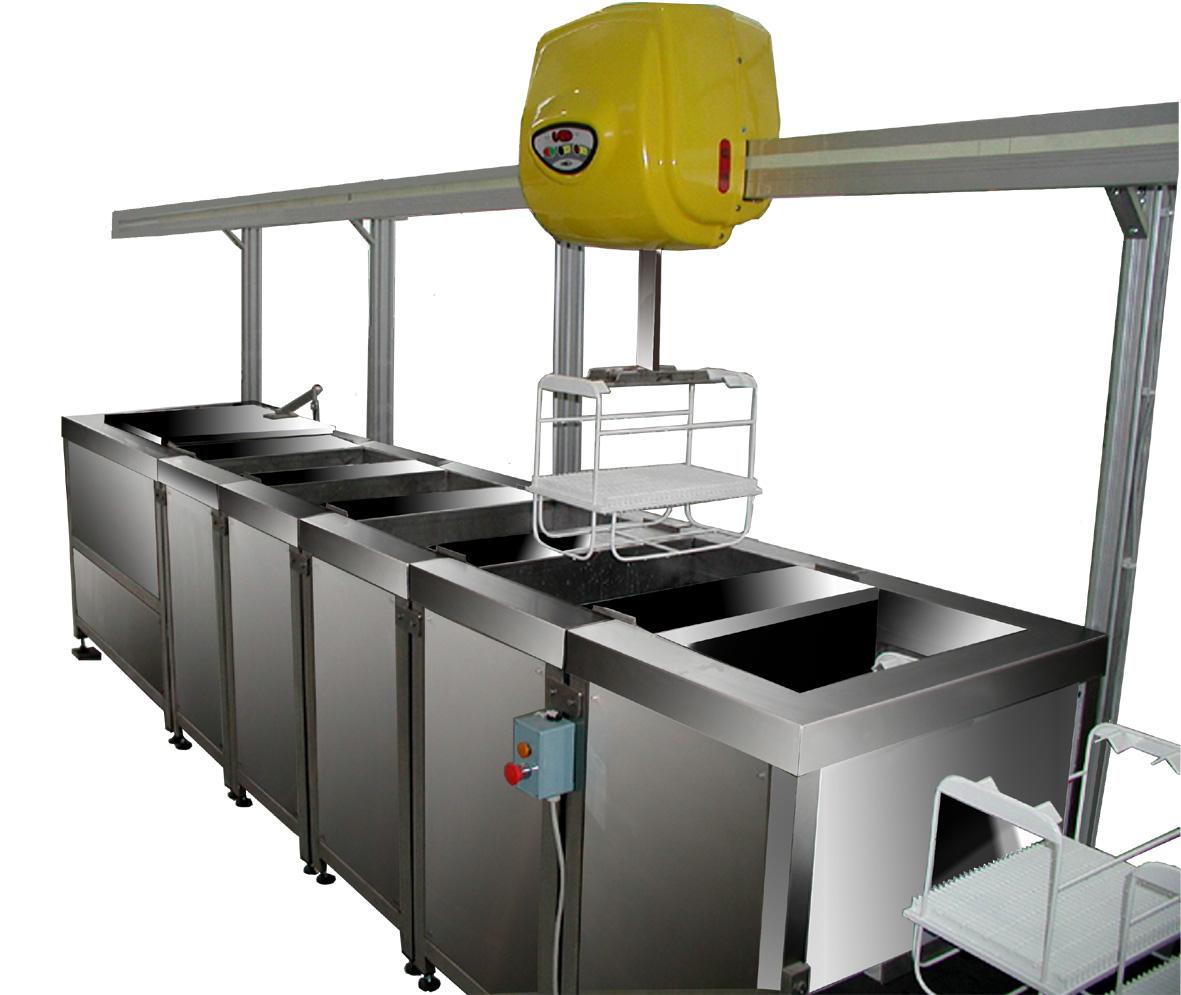 Produzione Impianti Lavaggio Industriale